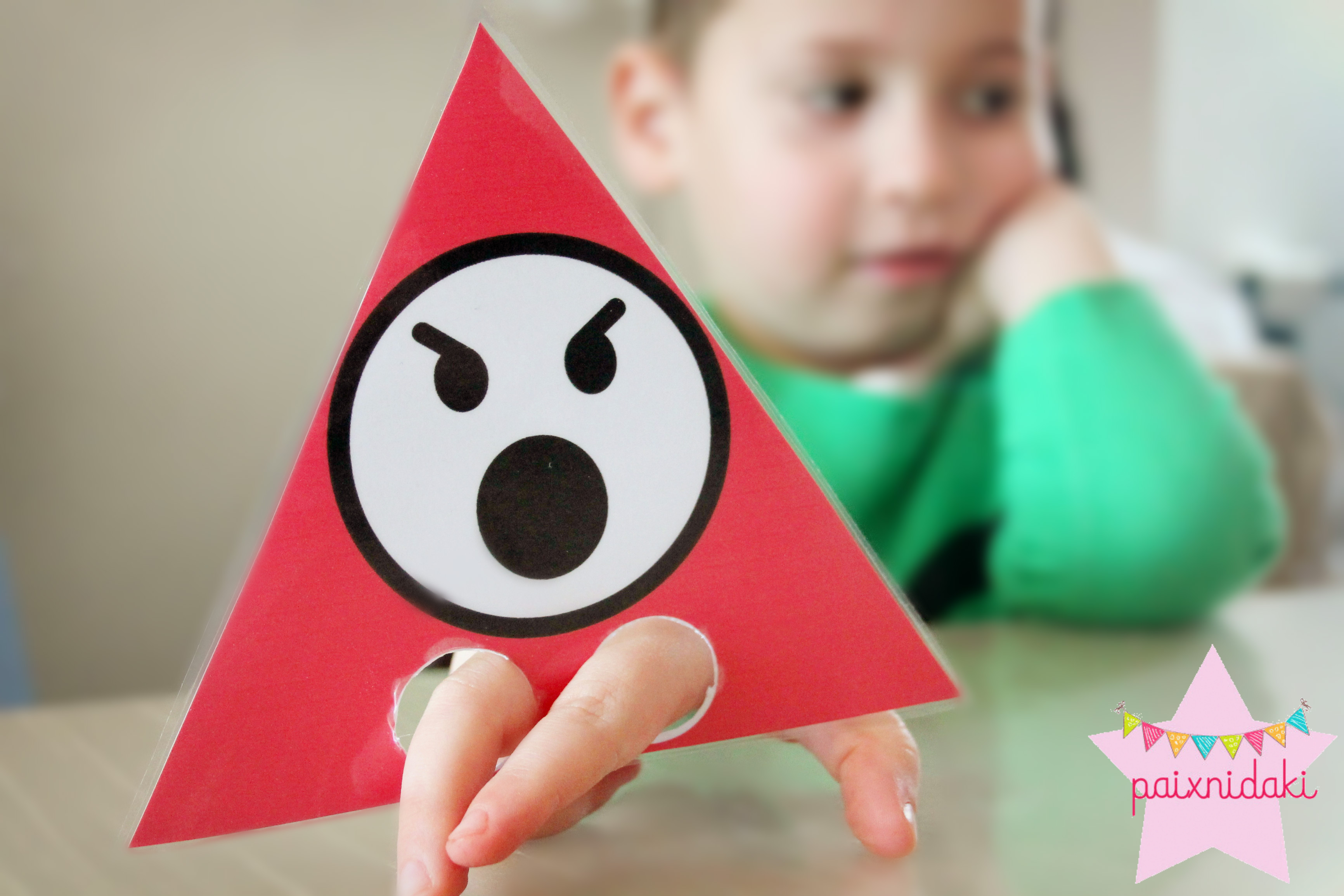 παιχνίδια με τα σχήματα και τα συναισθήματα