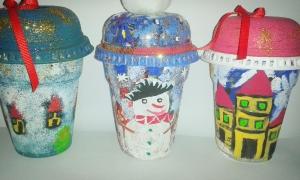 πλαστικά ποτήρια φραπέ
