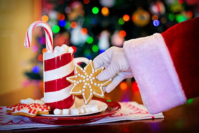 Αποτέλεσμα εικόνας για παιδιά αφήνουν γλυκά για τον Άγιο Βασίλη